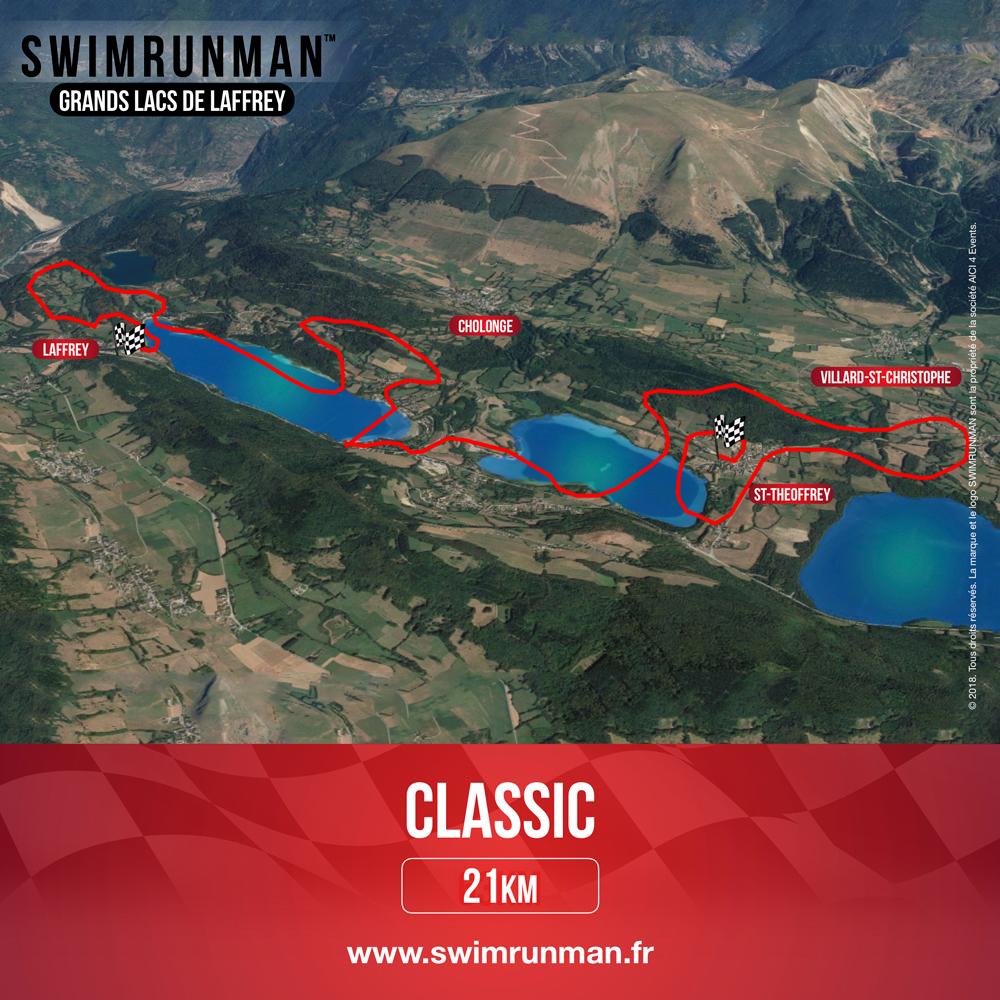 Parcours classic swimrun