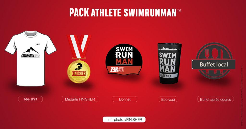 Programme Pack SWIMRUNMAN