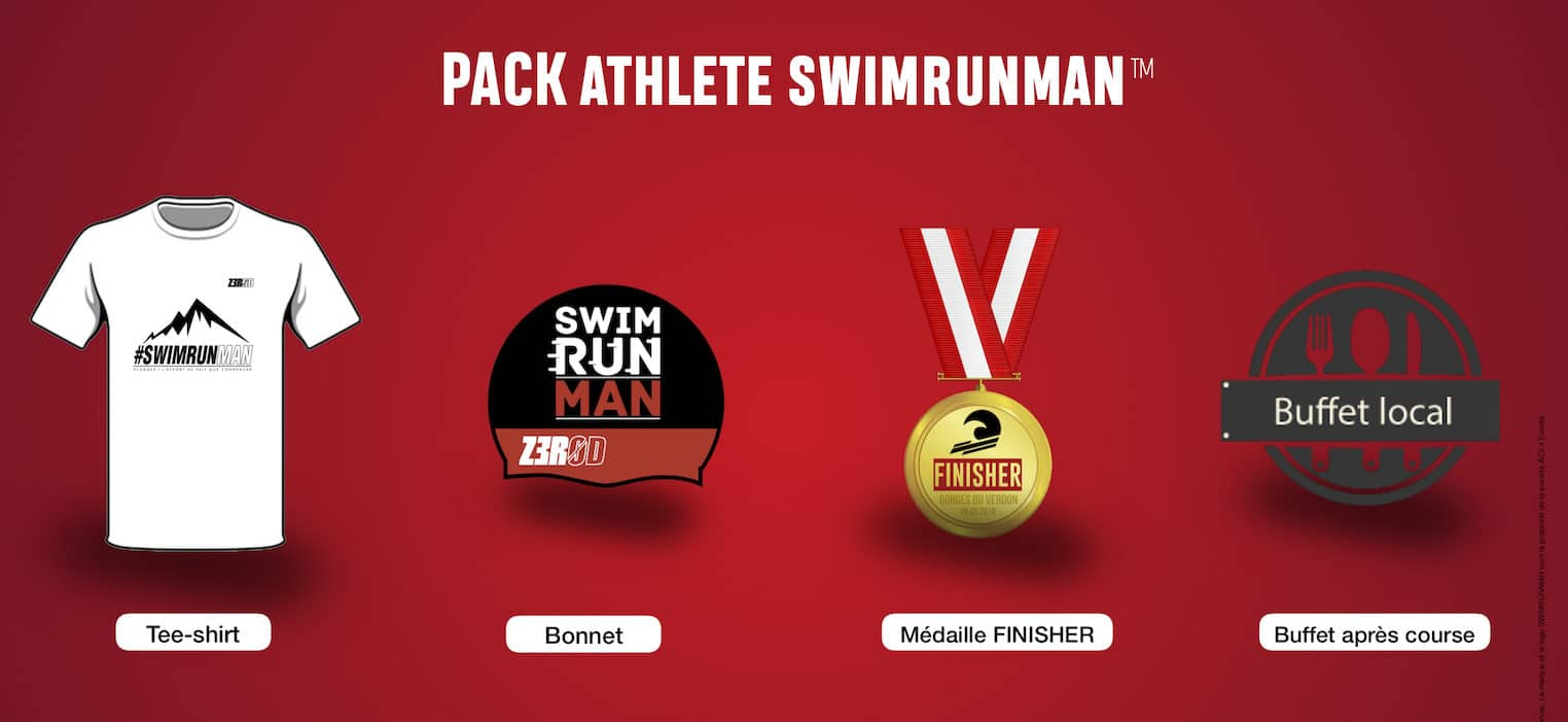SWIMRUNMAN Pack Program