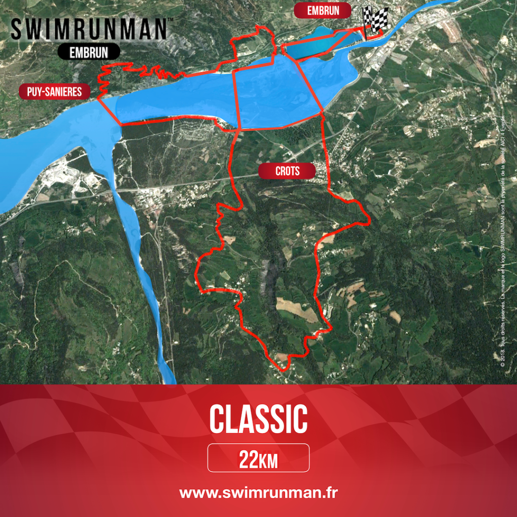 swimrun shop Embrun classic course