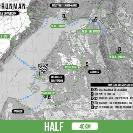 SWIMRUNMAN VERDON - Ravitaillements HALF