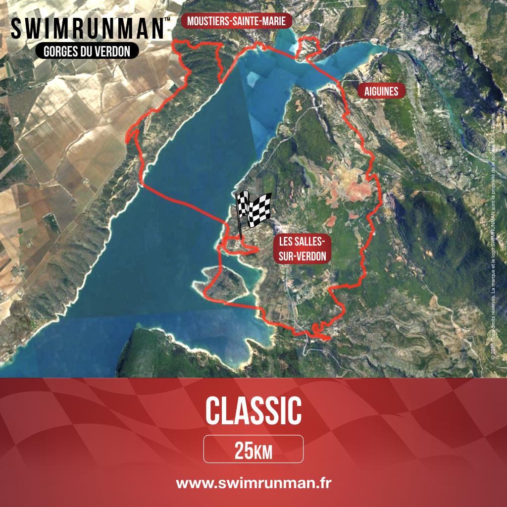 swimrun parcours gorges du verdon classic