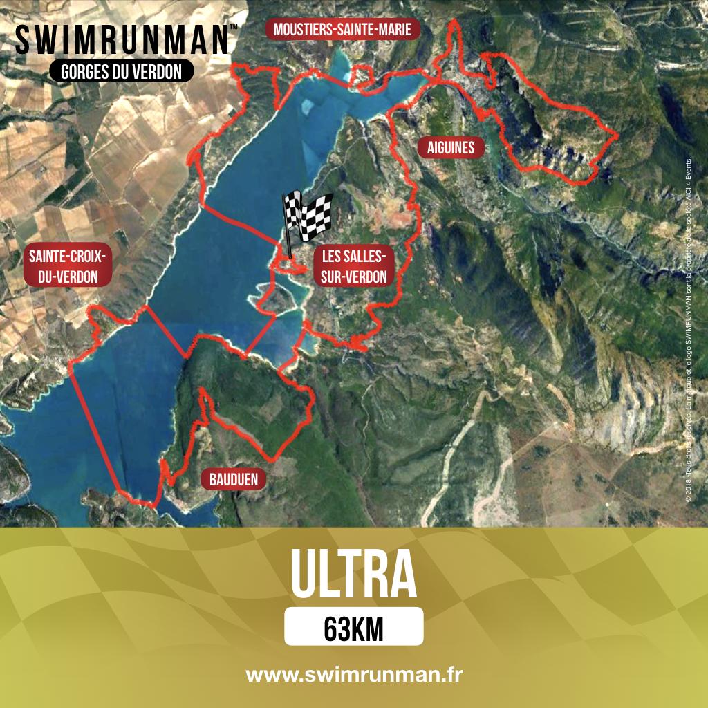 parcours swimrunman gorges du verdon ultra swimrun