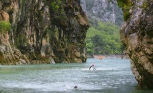 swimrun natation eau libre verdon